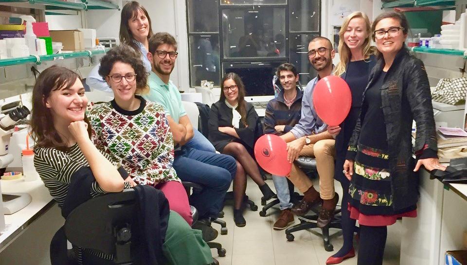Laboratory group shot