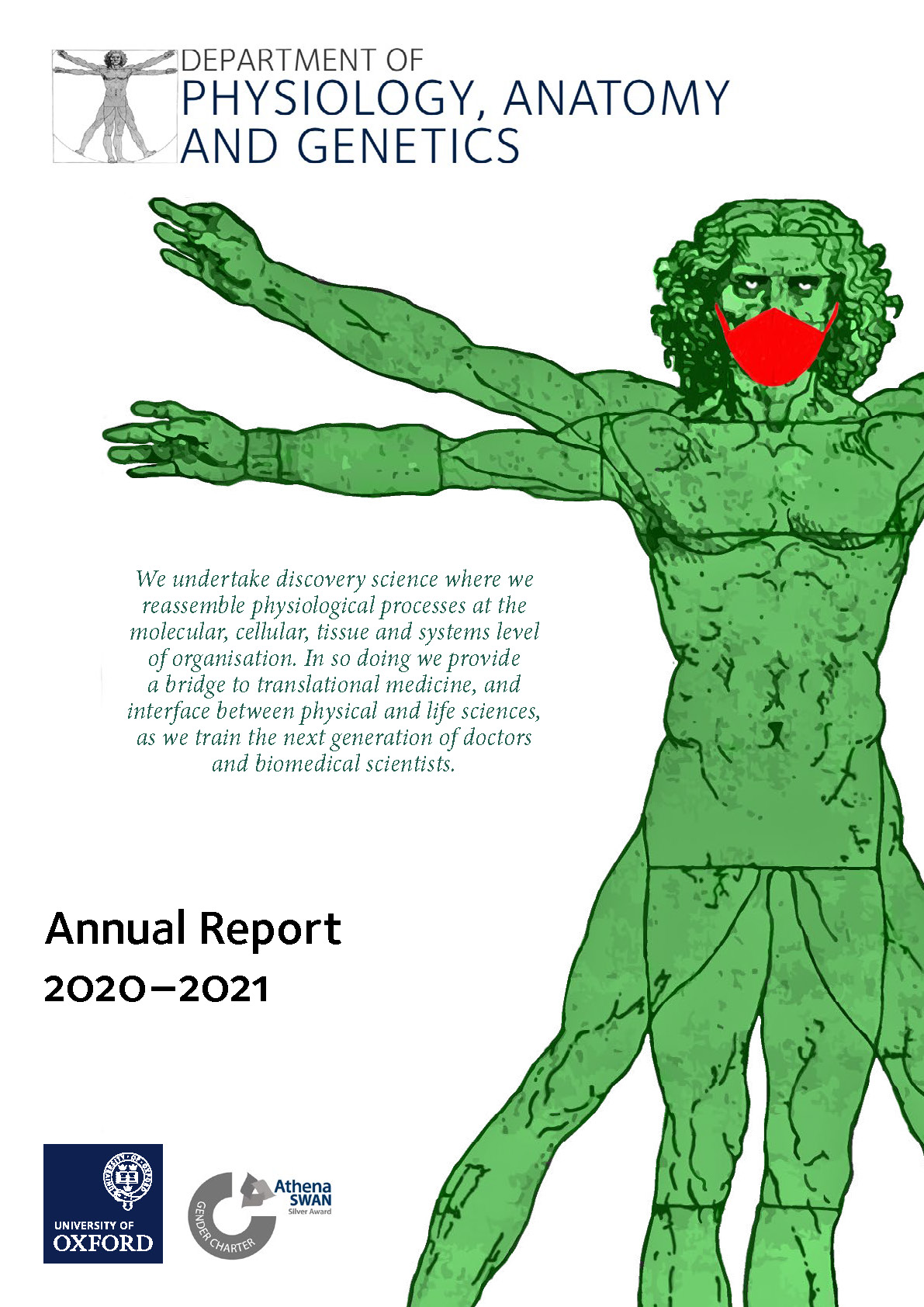 Annual Report 2020-21 front cover