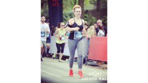 Becky Wallings half marathon