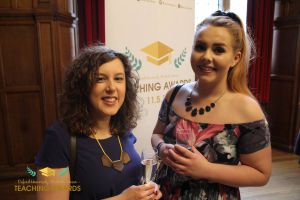 Dr Natalie Connor-Robson with student Rebecca Wallings