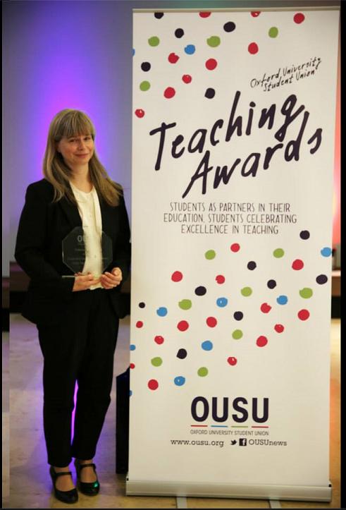 Maike Glitsch OUSU award 1