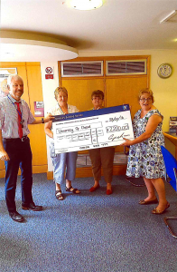 OPDC fundraisers in Andover donate £2200