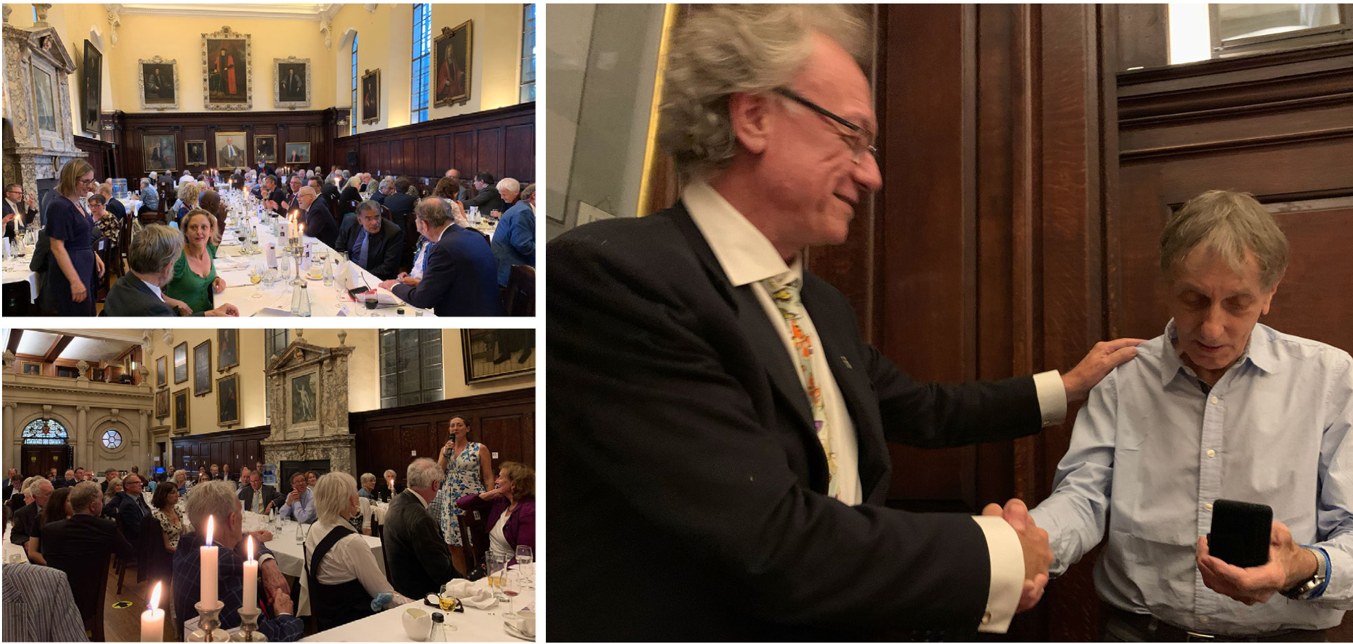 Sir Colin Blakemore Dinner Event montage