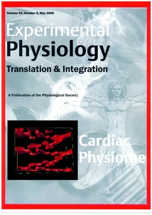 Experimental Physiology: Volume 94, Issue 5, May 2009