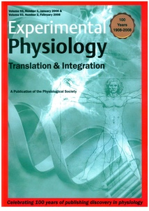 Experimental Physiology: Volume 93, Issue 1, January 2008