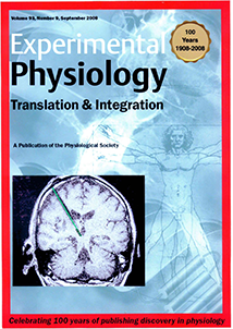 Experimental Physiology: Volume 93, Issue 9, September 2008